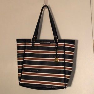 Tommy Hilfiger Stiped Shoulder Bag